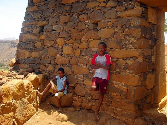 Crianças Cabo Verde