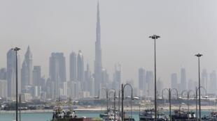 Vue de Dubaï.