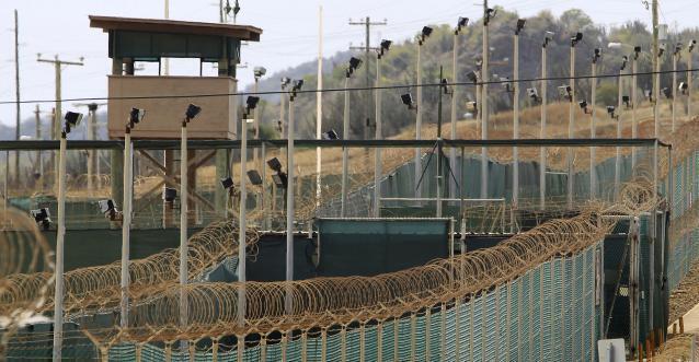 El campo de detención de Guantánamo.