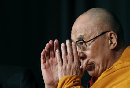 O Dalai Lama festeja seu aniversário ao lado de milhares de pessoas na cidade de Dharamasala, na Índia