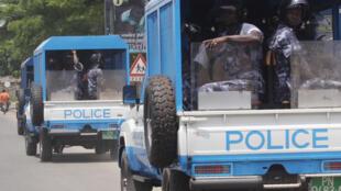 PHOTO Police Togo Lomé