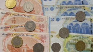 Des dinars tunisiens