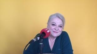 L'actrice et auteure Josiane Balasko à Paris (mars 2019).