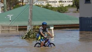 Le Queensland est l'une des régions qui a été fortement touchée par les inondations.