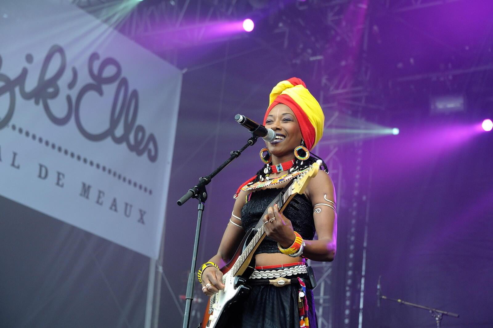 La chanteuse malienne Fatoumata Diawara.