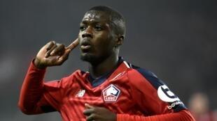 L'Ivoirien Nicolas Pépé réalise une saison 2018-2019 époustouflante avec Lille en Ligue 1.