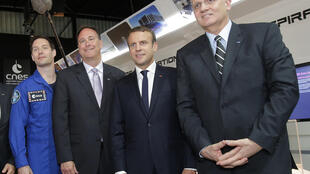O presidente do CNES, Jean-Yves Le Gall, anunciou os projetos espaciais da França para 2018