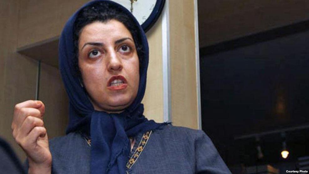 نرگس محمدی، فعال حقوق بشر