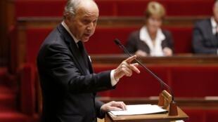 Глава МИДа Франции Лоран Фабиус, 28 ноября