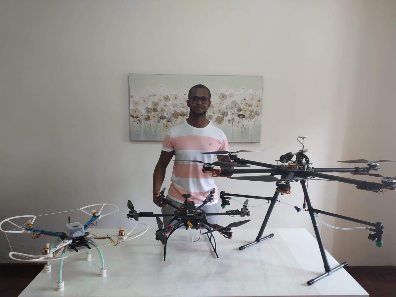 Érico Pinheiro Fortes e os seus drones