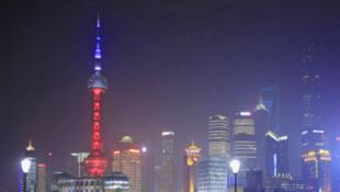 Une vue de la ville de Shangaï, en Chine.