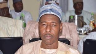 Gwamnan jihar Borno Farfesa Babagana Zulum.