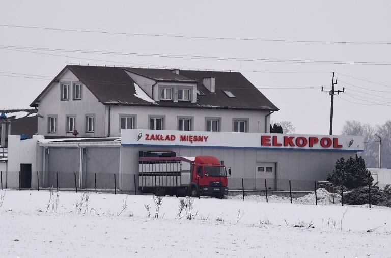 Lò mổ gia súc Elkopol, Kalinowo, đông bắc Ba Lan, nơi xẩy ra tai tiếng thịt ôi xuất sang các nước Châu Âu.