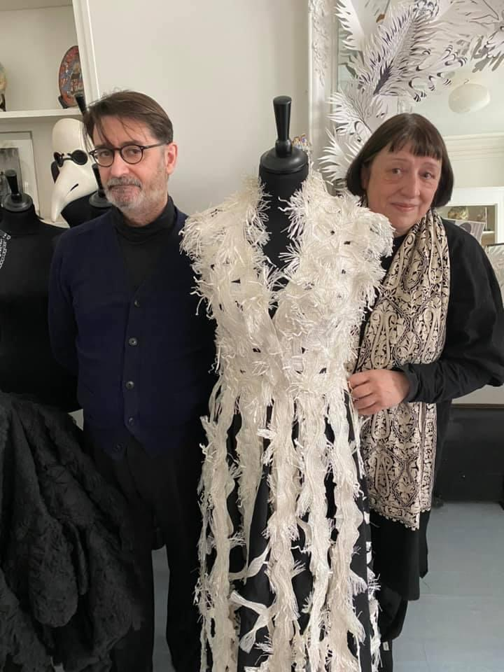 Franck Sorbier 与 Isabelle Tartière Sorbier