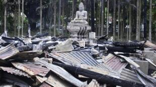 Templos destruídos tinham até 300 anos, conforme