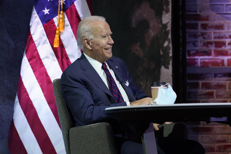 Le président élu américain Joe Biden lors d'un briefing sur la sécurité nationale au Queen Theater de Wilmington, le 17 novembre 2020.