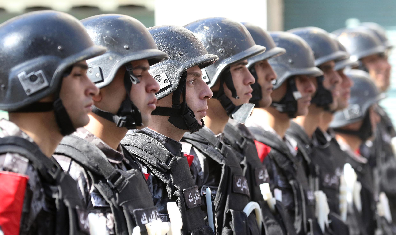 Des forces de sécurité jordaniennes, dans les rues d'Amman. (photo d'illustration)