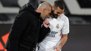 'He has my support': Benzema with Zidane