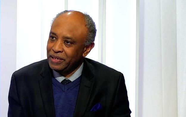 O professor de economia senegalês Gervasio Semedo, da Universidade de Tours, na França.