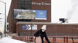 El Chicago Tribune, cuya sede se ve aquí, es el buque insignia de la cadena Tribune Publishing