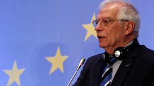 L'Espagnol Josep Borrell, à la tête de la diplomatie européenne.