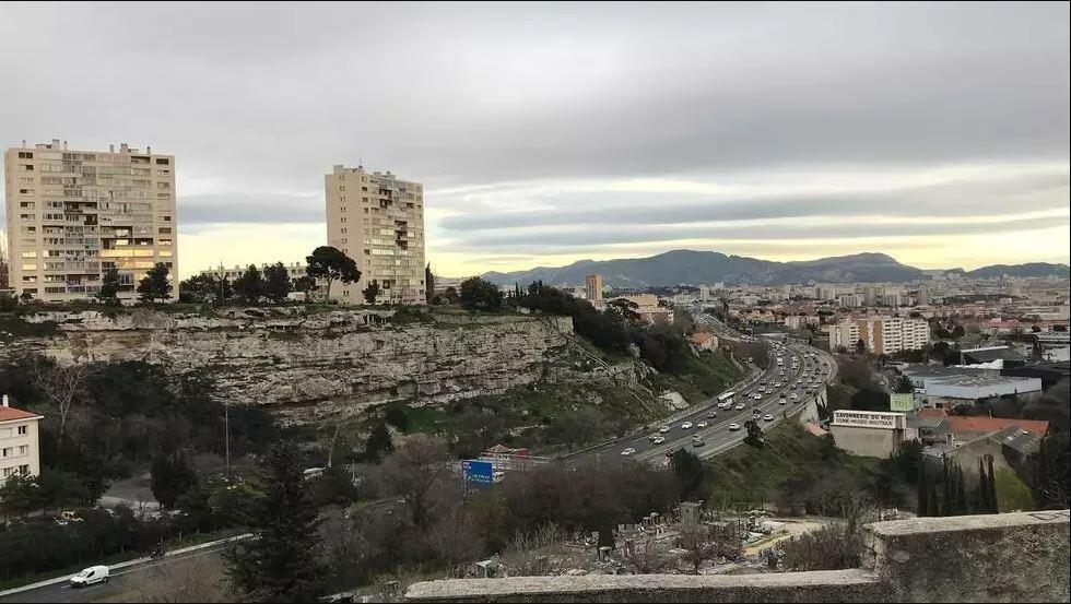 Marseille deprived northern neighbourhoods