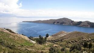El lago Titicaca y la Isla del Sol.