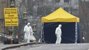A polícia prendeu sete pessoas suspeitas de envolvimento no ataque que deixou quatro mortos, incluindo o autor, ontem no centro de Londres.