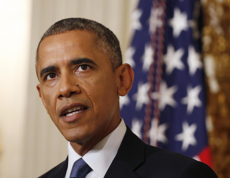 Barack Obama s'exprime sur l'Irak, le 7 août.