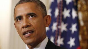 Barack Obama akizungumza kuhusu uwezekano wa kufanya mashambulizi katika kwenye ngome za waasi nchini Iraq.