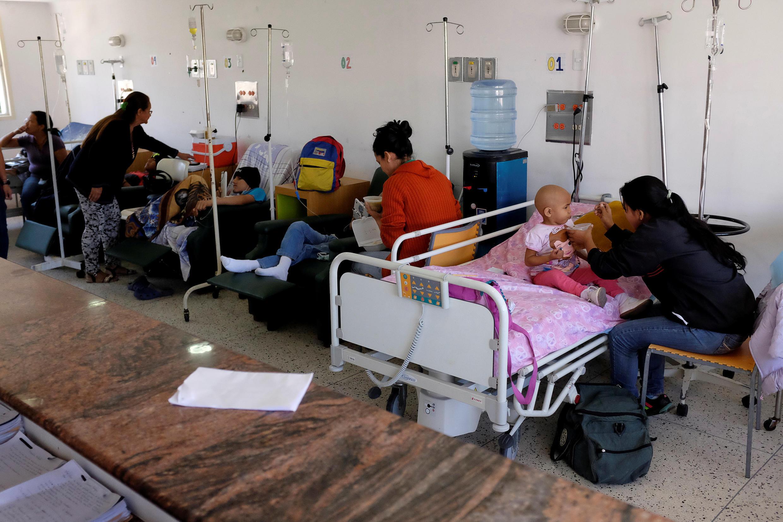 Hospital infantil J.M. de los Ríos. Caracas, Venezuela el 22 de febrero de 2017.