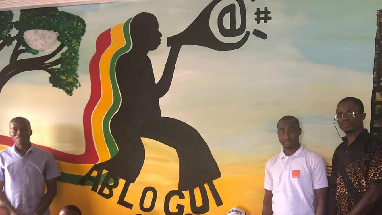Ablogui, l'association des blogueurs guinéens.