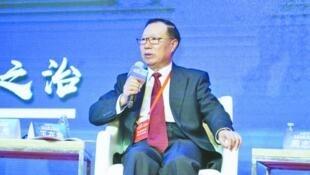 中国国务院台办原副主任王在希资料图片