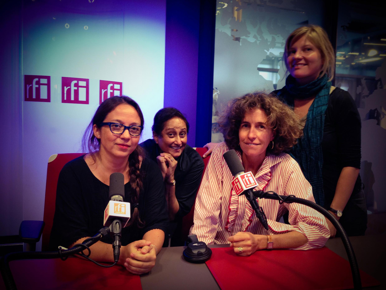 de gauche à droite: Paola MARTINEZ, Vaiju NARAVANE, Emmanuelle BASTIDE et Anuliina SAIVOLAINEN