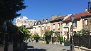Nông thôn ở Paris, quận 20.