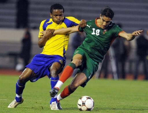 Youssouf Hadji face au Gabon.