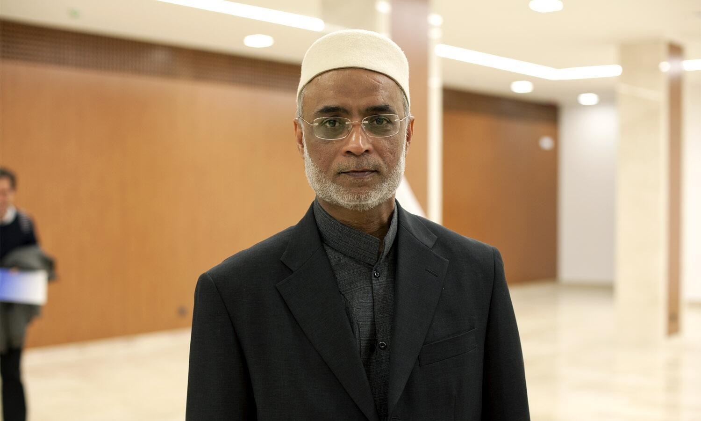 O sheik David Munir, imã de Lisboa