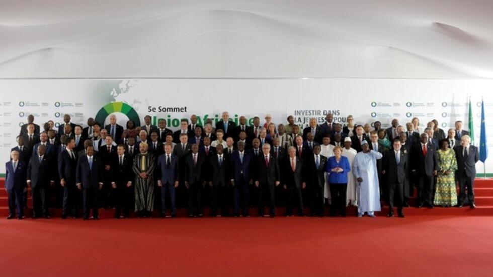 Shugabanni EU-AU da ke halatar taron Abidjan