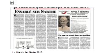 C'est le journal Le Canard Enchaîné qui a dévoilé l'affaire autour de l'emploi de Penelope Fillon.