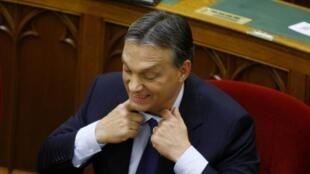 Премьер-министр Венгрии Виктор Орбан 10/09/2012