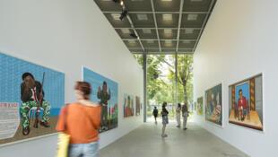 L'exposition «Beauté Congo», à la Fondation Cartier à Paris, est prolongée jusqu'au 10 janvier 2016.