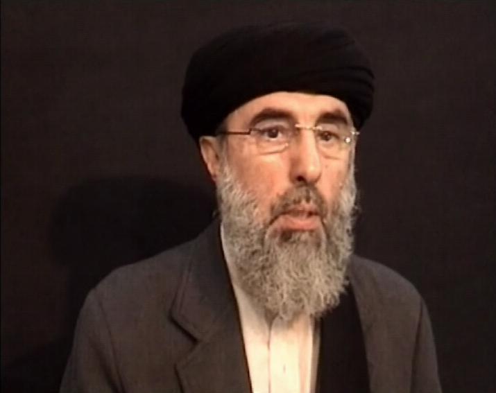 Gulbuddin Hekmatyar, le leader du Hezb-e islami en Afghanistan.