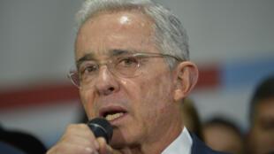 El exmandatario de 68 años Álvaro Uribe siempre ha alegado inocencia y cuenta con un sólido apoyo popular.