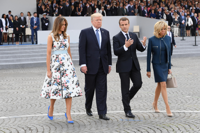 Tổng thống Mỹ Donald Trump cùng phu nhân dự lễ Quốc Khánh Pháp 14/07 theo lời mời của đồng nhiệm Pháp Emmanuel Macron.