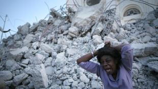 Port-au-Prince, Haïti. 23 January 2010.