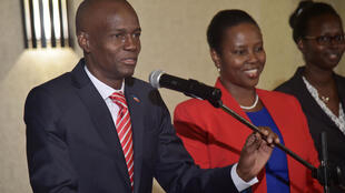 Le président élu Jovenel Moïse, le 3 janvier 2017 à Port-au-Prince.