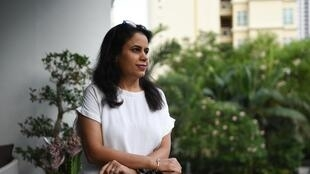 Seema Devgan, who lives in Singapore, spends hours every day fielding frantic appeals for help  from India