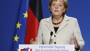 """Angela Merkel aclaró que Grecia deberá respetar las """"reglas""""  comunes sobre los déficits."""