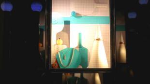 Cửa hiệu kim hoàn Tiffany & Co tại thành phố Nice, Pháp 10/2019