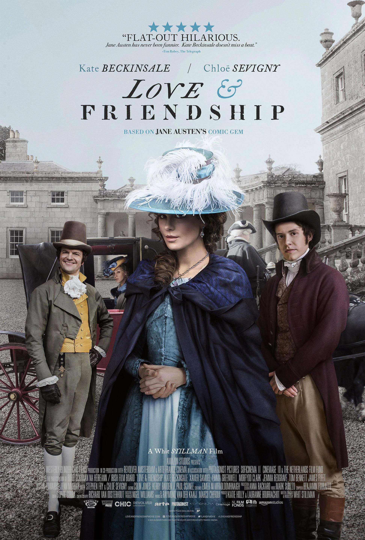 L'affiche du film <i>Love and Friendship, </i>du cinéaste Whit Stillman.